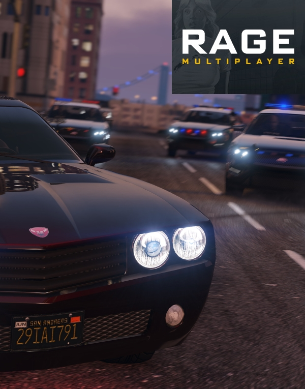 Grand Theft Auto 5: RAGE:MP Game Server Hosting
